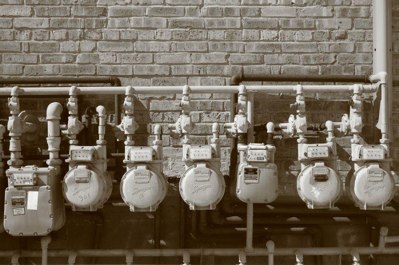 Leaking pipes - water meter
